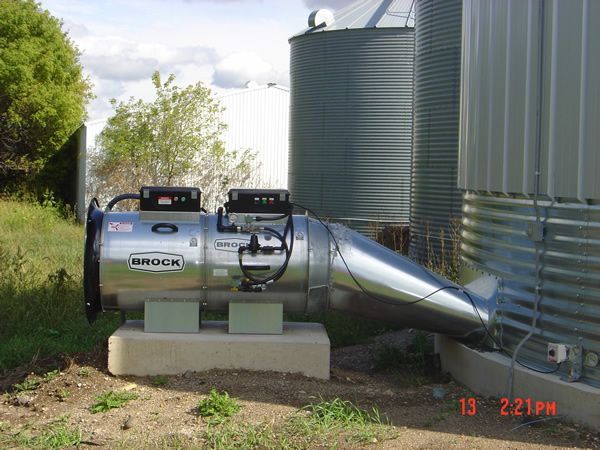 Natural Gas Grain Dryer