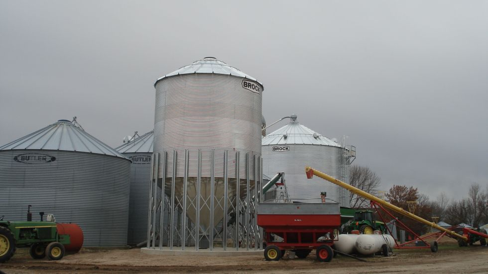 Hopper Bins Farm Agri Systems