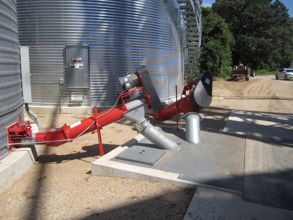 Grain Bin Unload - Basic Round Tube / Sweeps | Agri-Systems