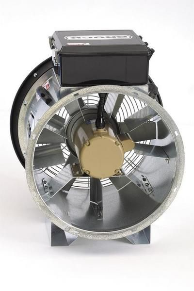 Axial Fan Systems : Grain bin fans vane axial agri systems