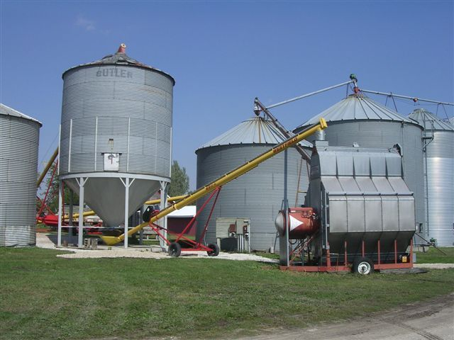 Grain bin cone bottoms