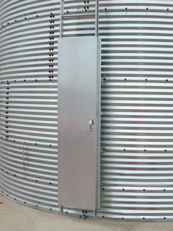 Grain Bin Ladders And Security Doors Agri Systems