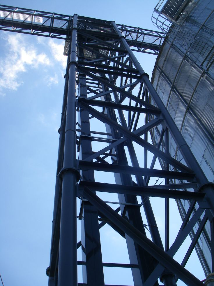 Staircase Tower Support : Support towers agri systems