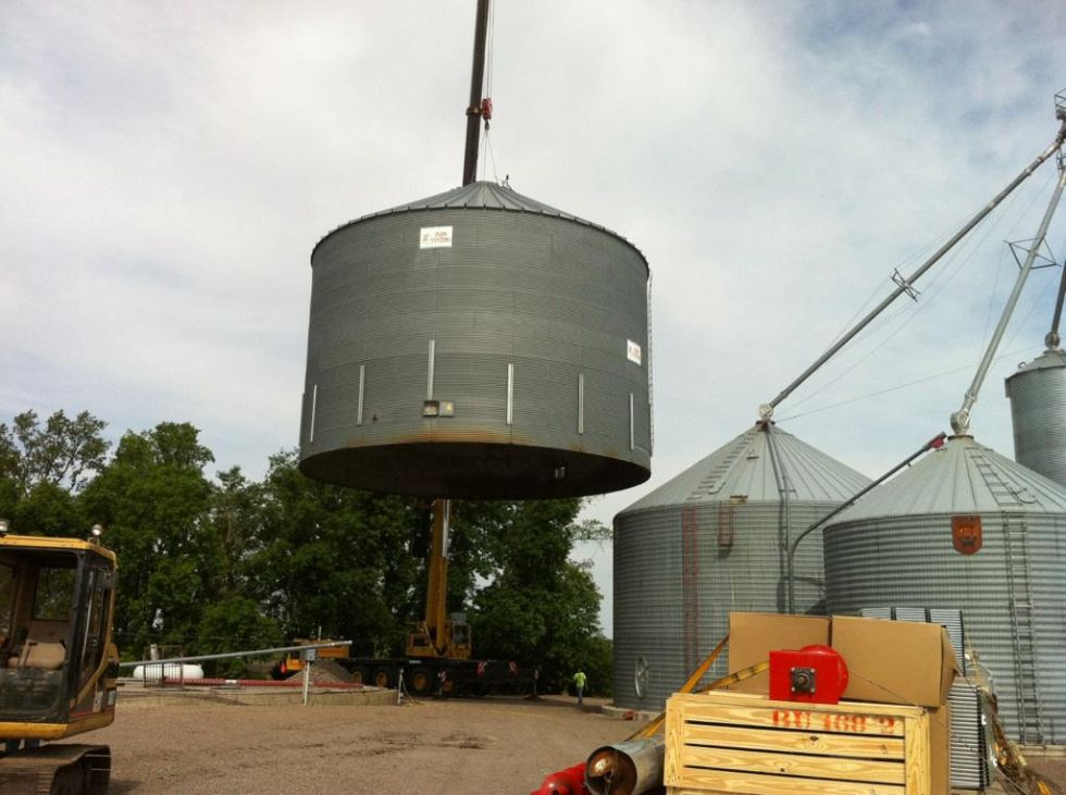 Repair Storm Damage Upgrades And Bin Moving Agri Systems